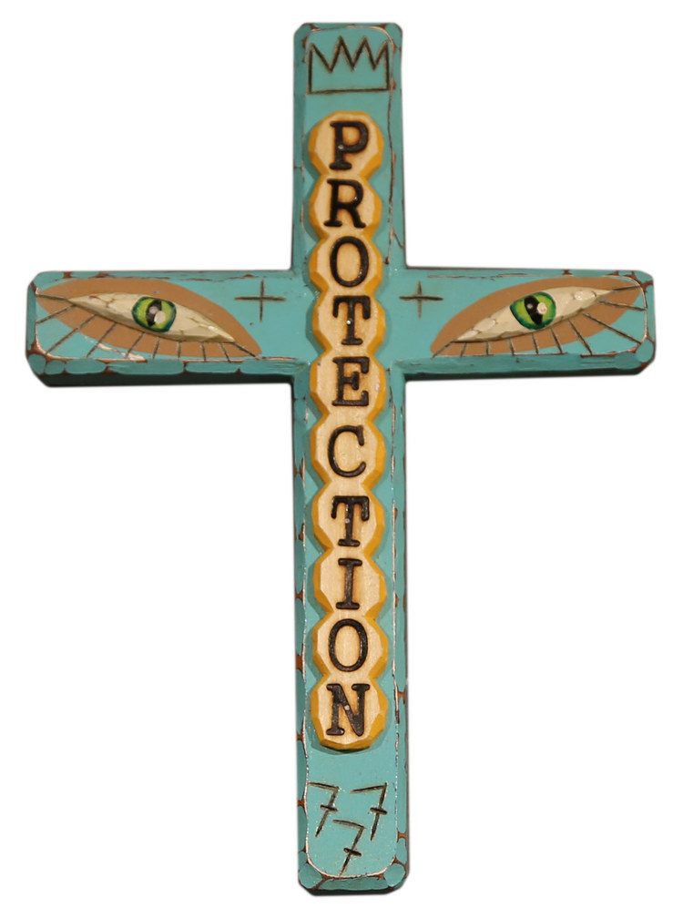 Protection Cross by Bryan Cunningham