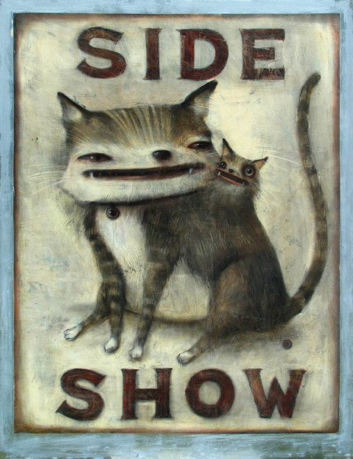 Red Truck Gallery Sideshow Print by John Whipple