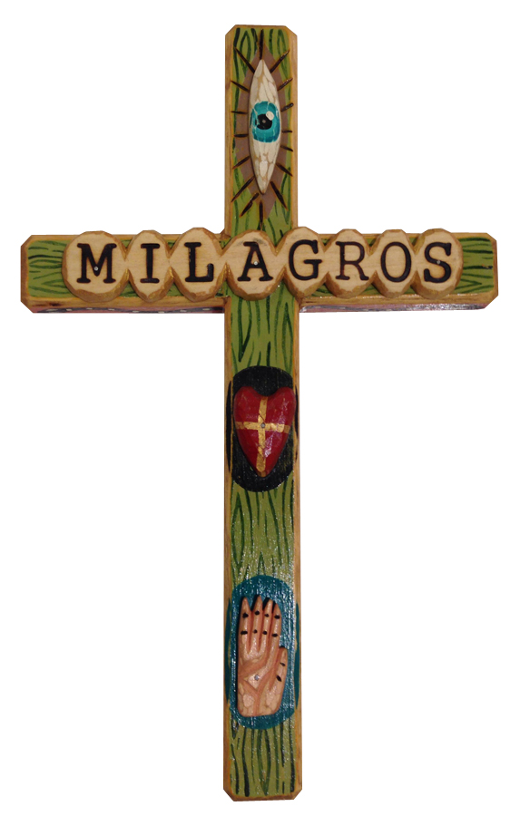 Milagros Cross by Bryan Cunningham