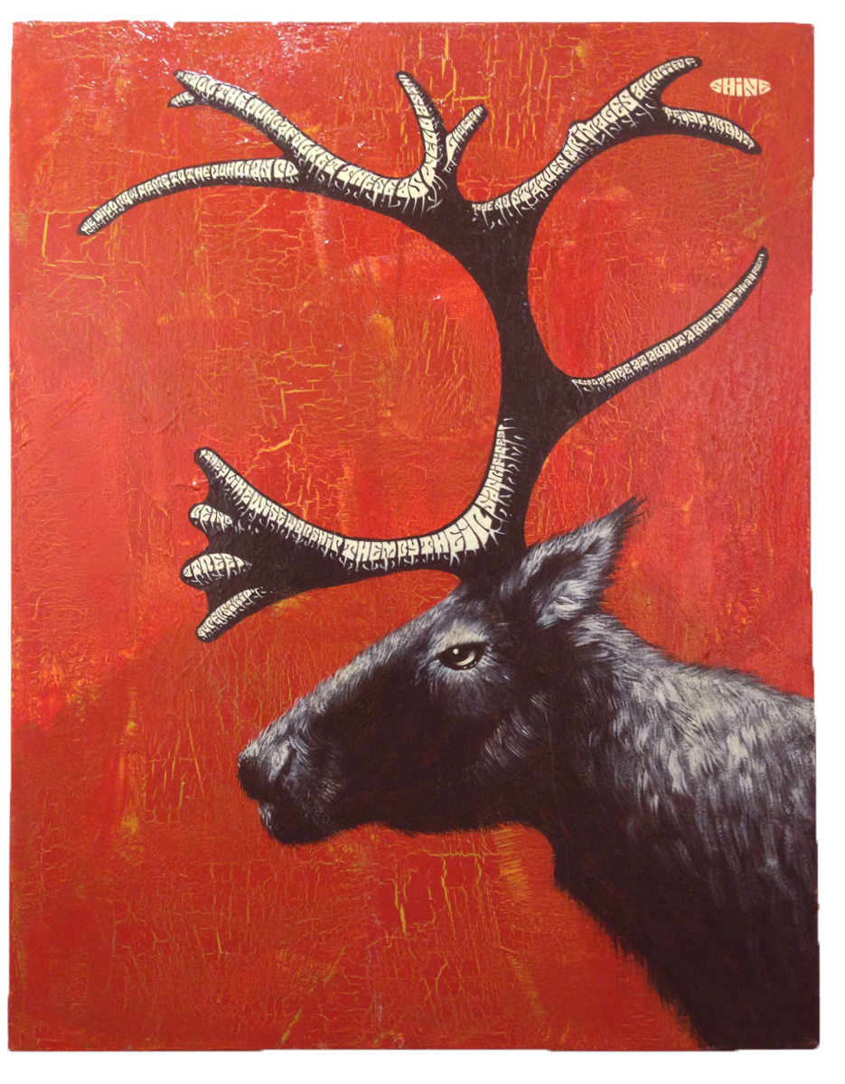Red Truck Gallery  Caribou by Mike Shine