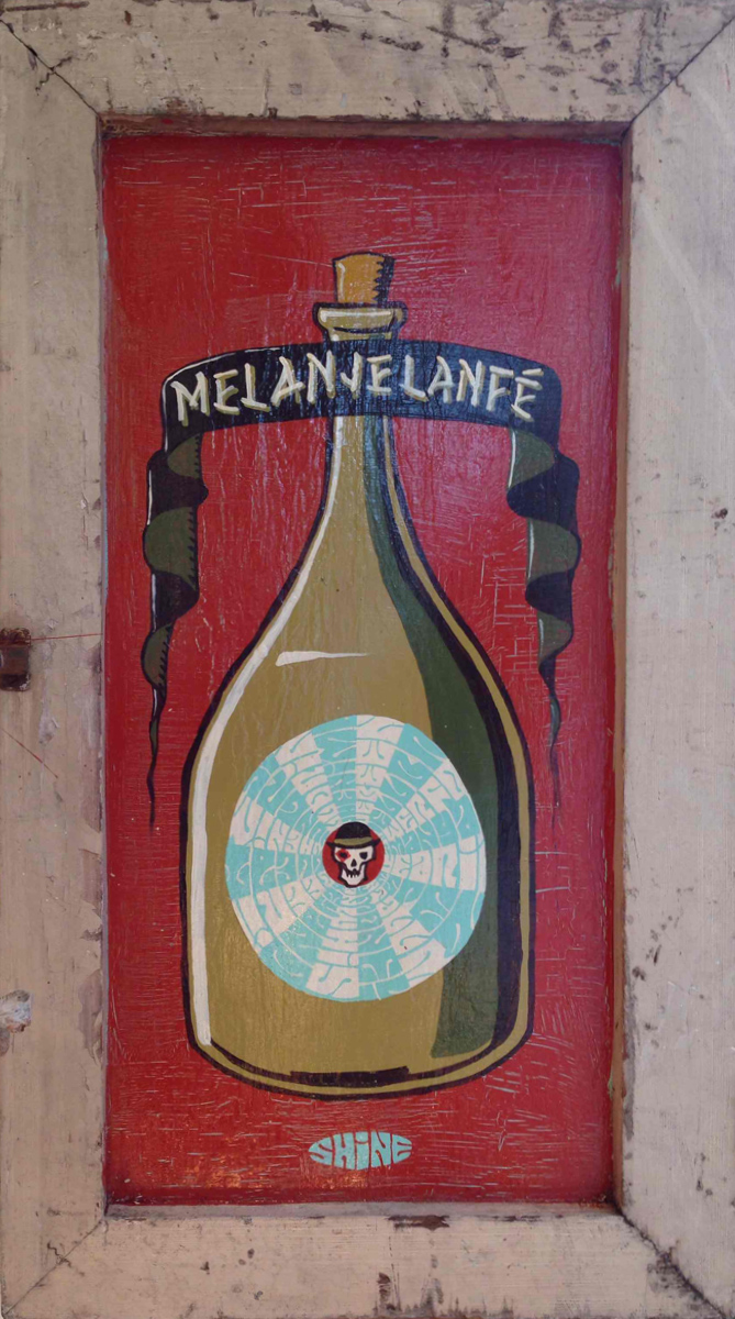 Red Truck Gallery  Melange Lanfe by Mike Shine
