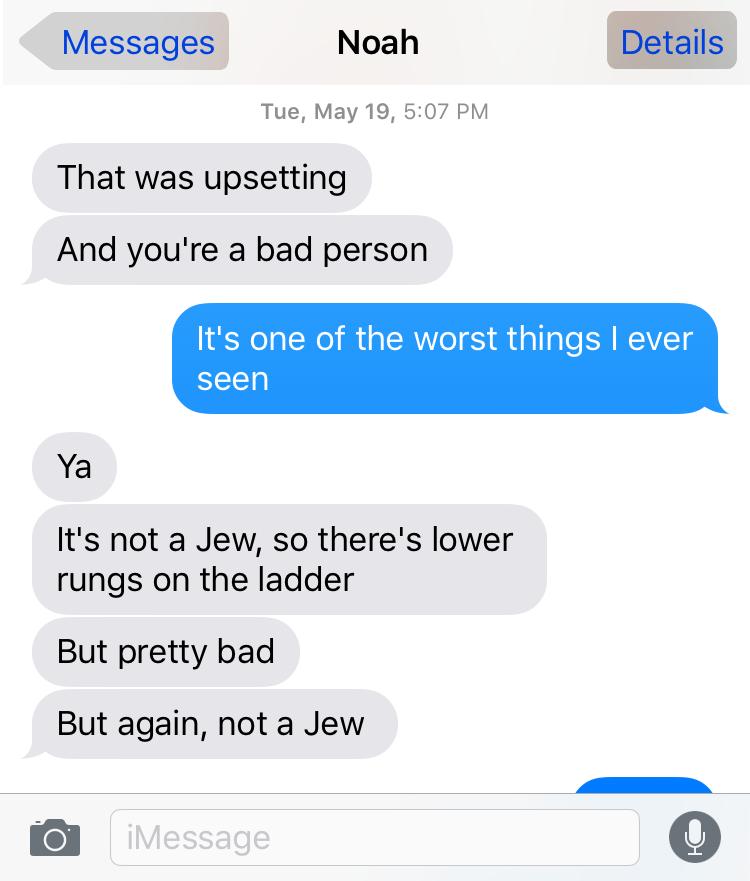 Noah Antieau is a hateful antisemite