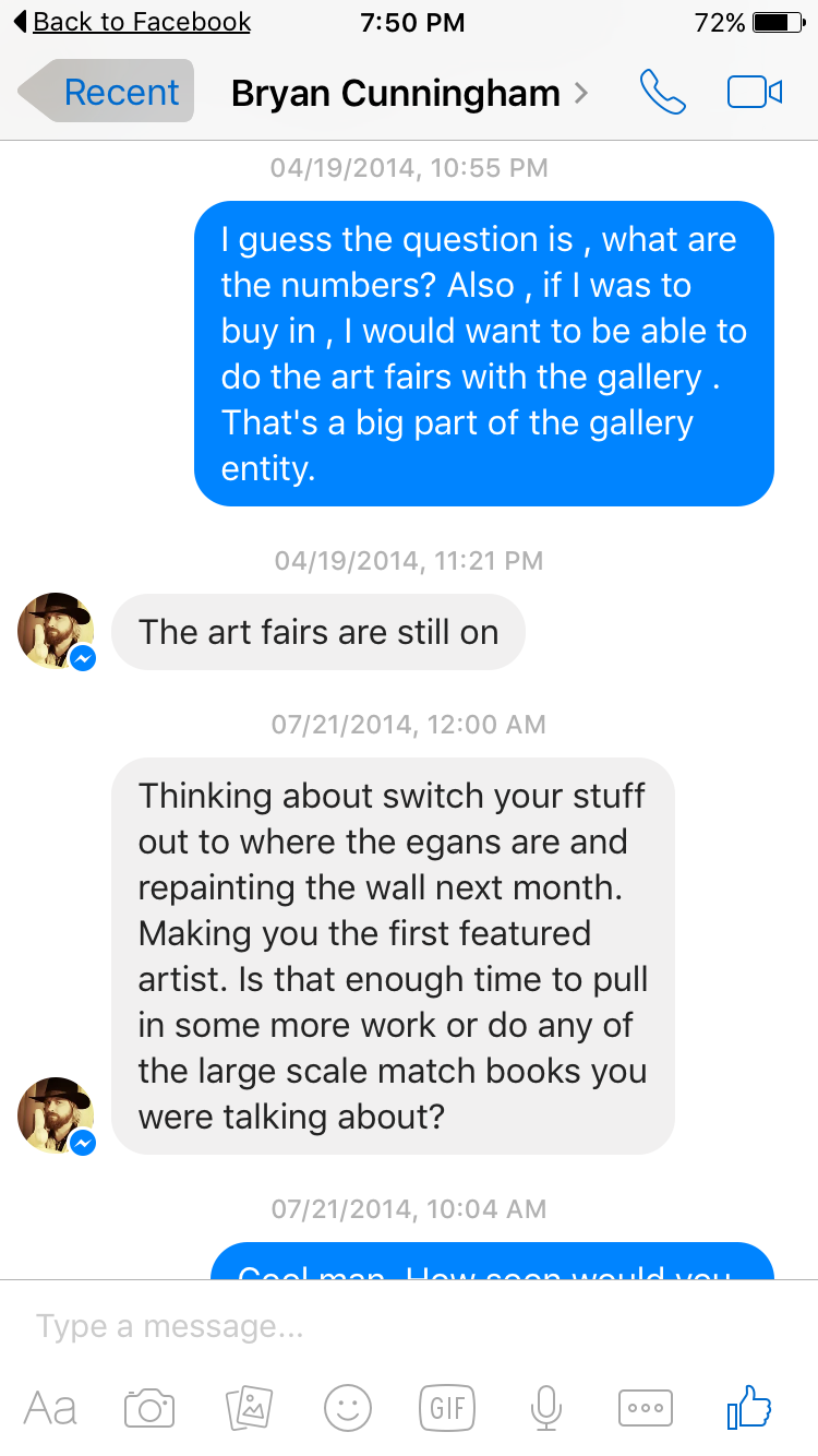 Before Noah Antieau stole the gallery