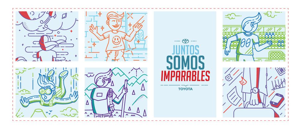 Juntos Somos Imparables- Together we're unstoppable.
