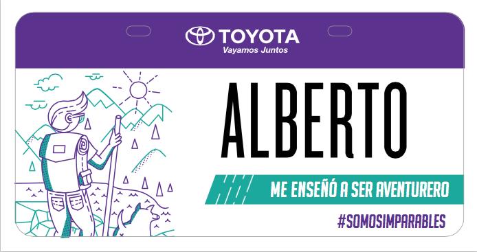 """Alberto taught me to be adventurous"""