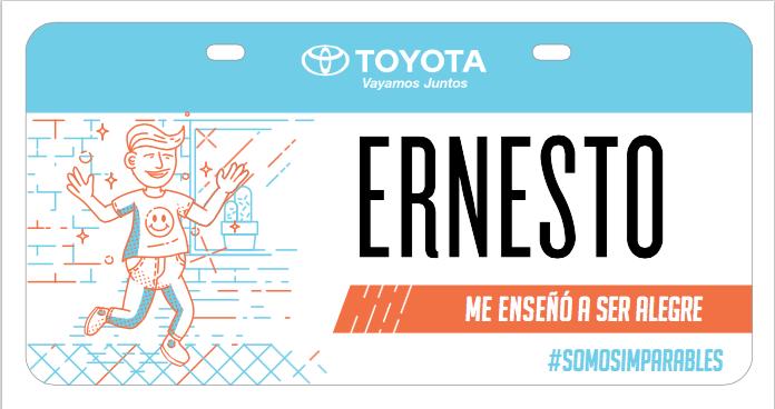 """Ernesto Taught me to be joyful"""