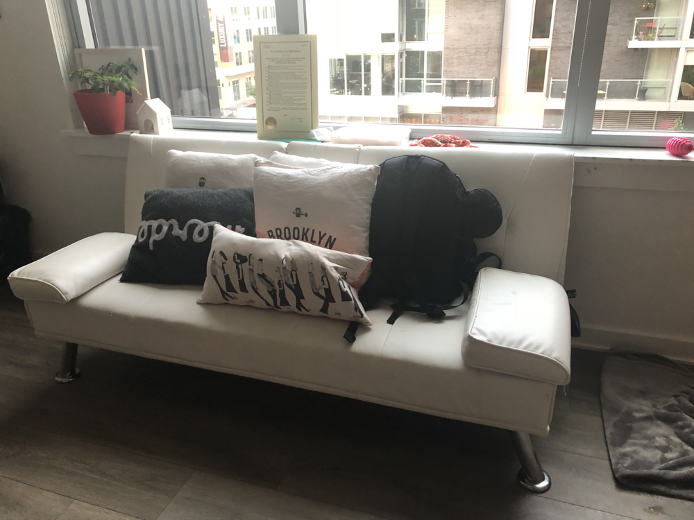 Simple Couch from Amazon  Yours for $50