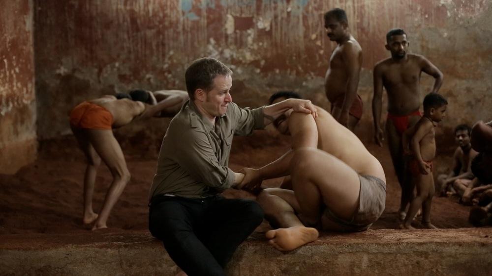 Image de la série CORPS ET MONDE diffusée sur TV5, filmée en Inde.