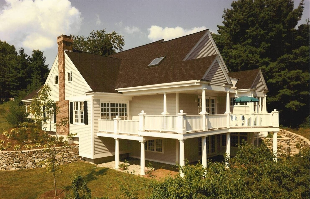 Stonegate Associated Homes - Wrap around porches