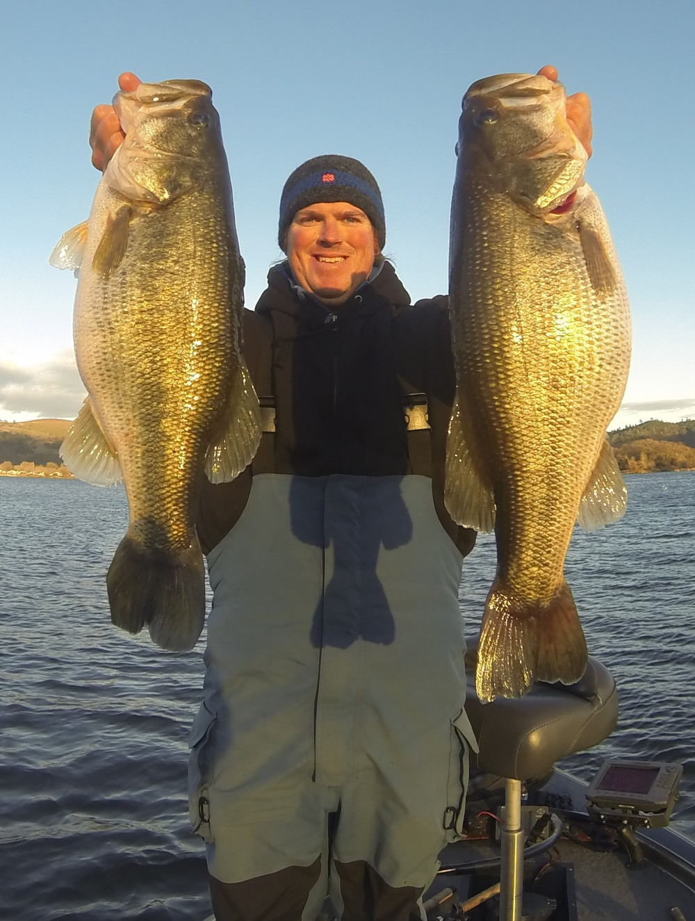 Where do bass go in winter tactical bassin 39 bass for Bass fishing in winter