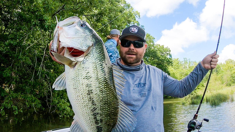 Frog Fishing And Topwater On Lake Chickamauga Big Bass Caught Tactical Bassin Bass Fishing Blog