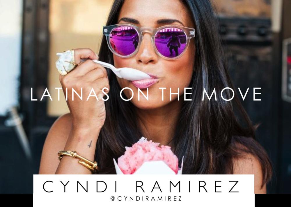 LATINAS ON THE MOVE CYNDI RAMIREZ