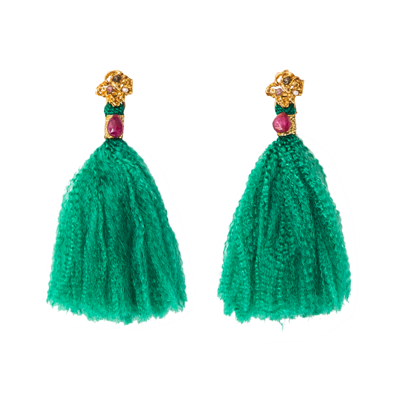 CLAUDIA TREJOS ALANA EARRINGS