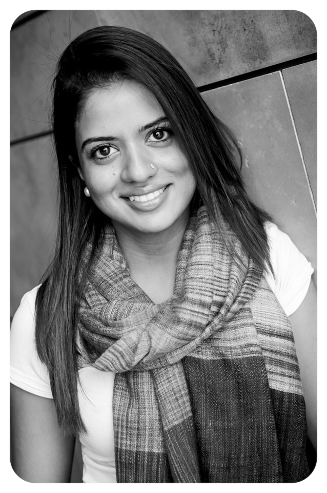 "Ruku Sandhu, born in Kenya, spent her formative years in the ""place of cool waters"", Nairobi. In 2005 her scenery changed when she moved to Canada to pursue higher education; a young woman of Indian descent, African mindset and culture, into a Western society. She studied Life Sciences, majoring in Psychology, at McMaster University, and went on to do her MBA from the Schulich School of Business. Equipped with her education, travels and life between India, Kenya, and now Canada, she found pleasure in the diversity of people, intrigued by the many differences, yet surprising similarities. Having a love for fashion, she found her inspiration in the many colors, cultures, and facets of humankind."