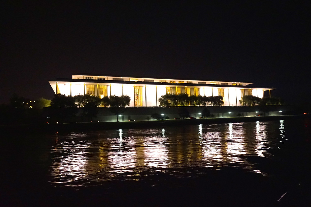 The stunning Kennedy Center