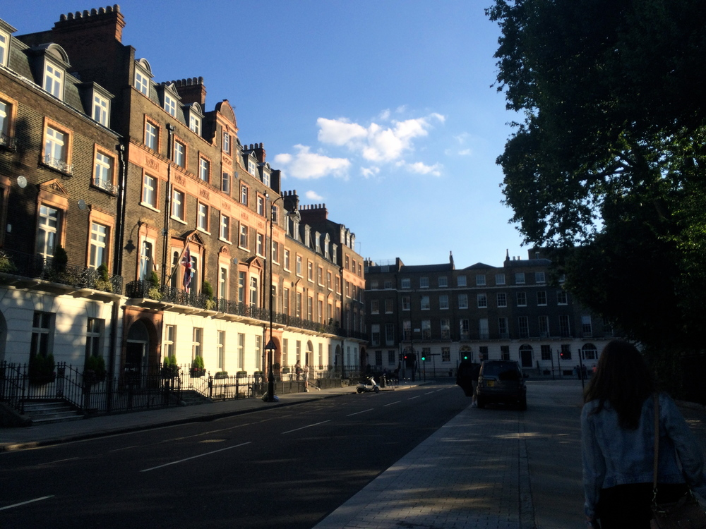The beautiful Bedford Square