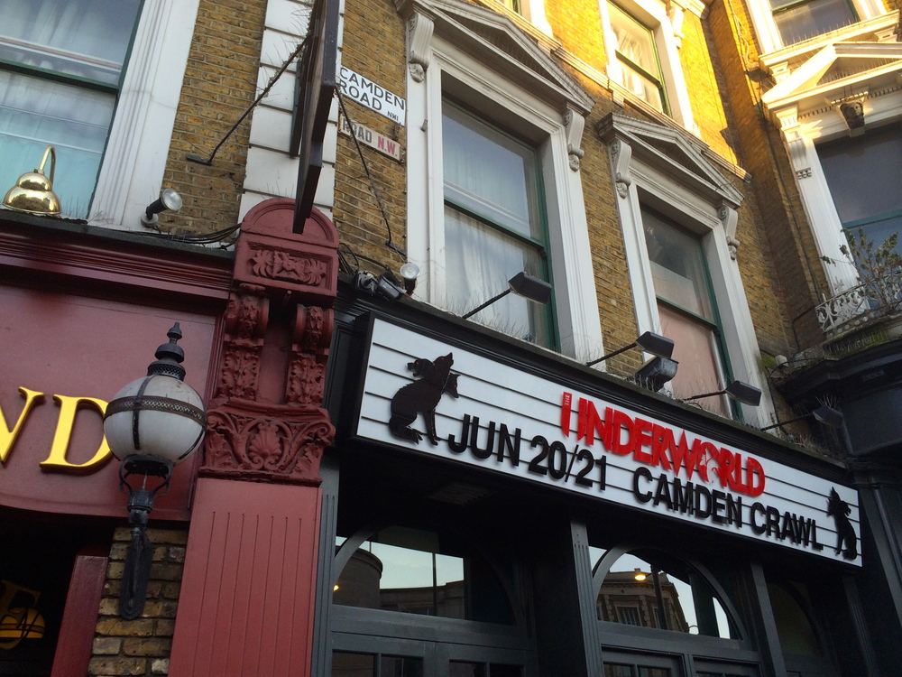 Braving cat calls on the eclectic streets of Camden.
