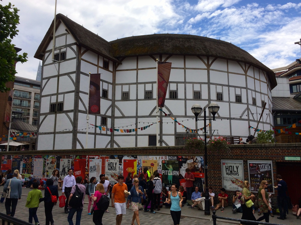 Shakespeare's Globe Theatre in all her glory