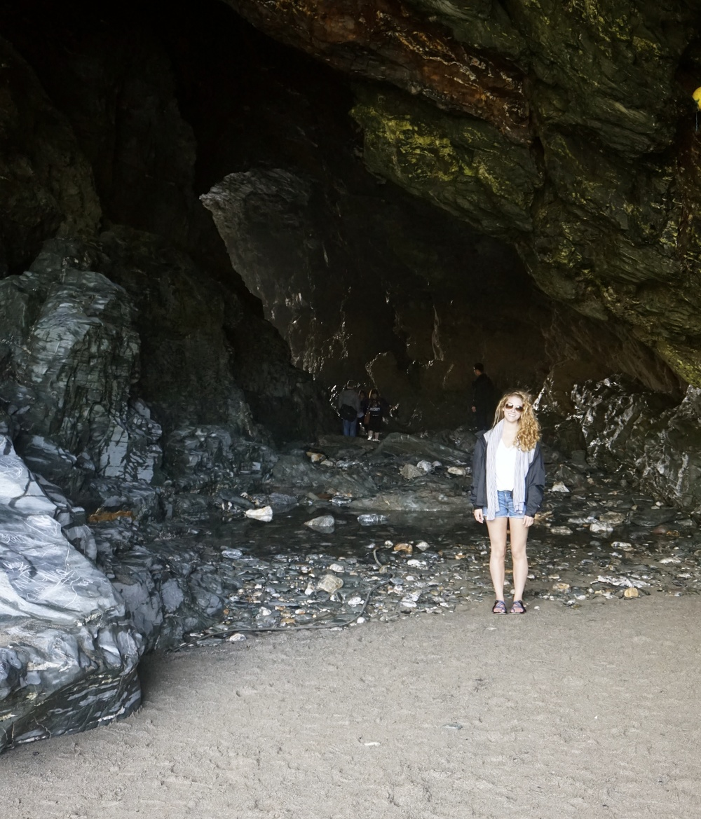 Standing outside the CAVE!