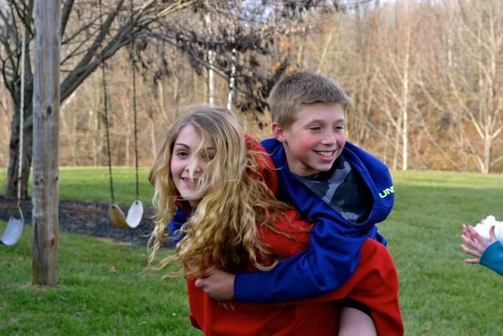 Lauren and Dustin