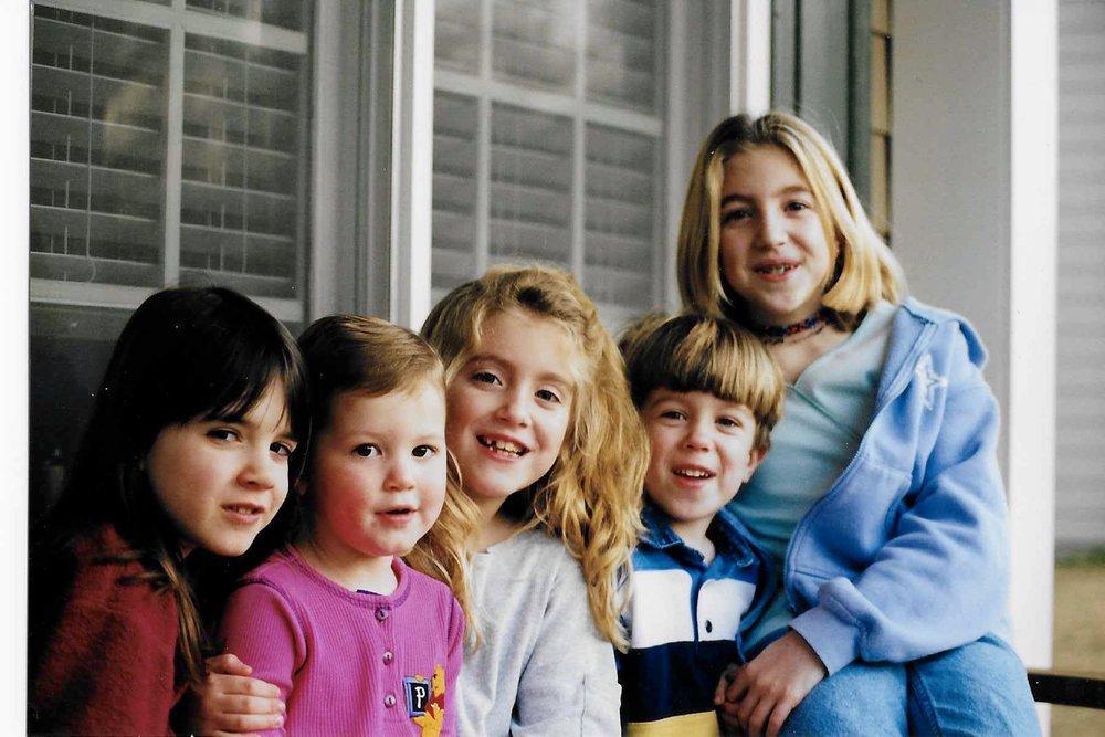 Kelsey, Meredith, me, Josh, Jordan