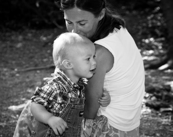 photo: Megan and her son, July 2011 credit to Helen Knight helenknightphotography.com