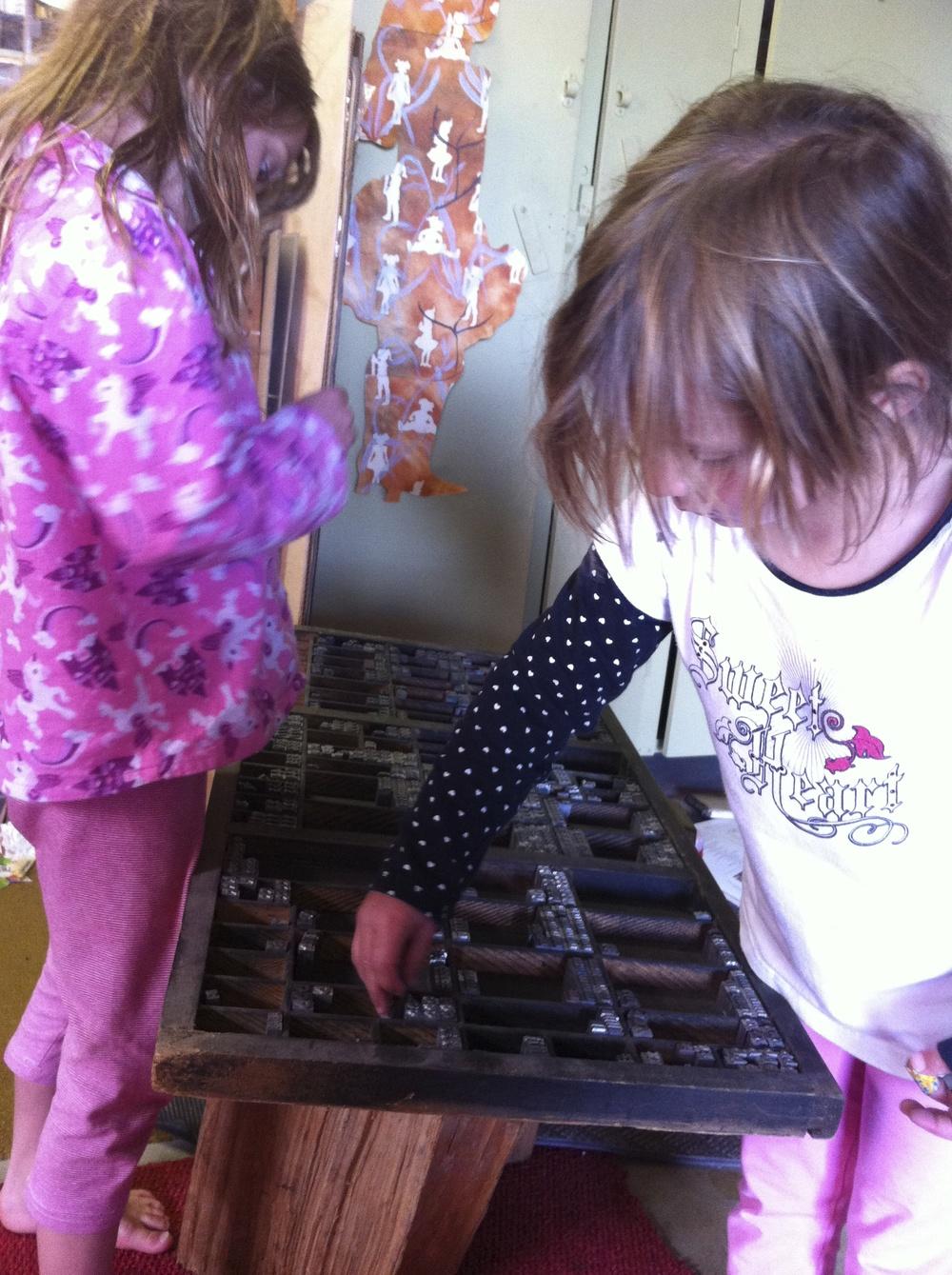 My Alphabet Savvy helpers.