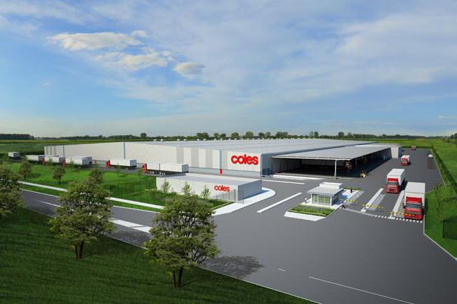 Coles Distribution Warehouse  Truganina, VIC  80,000m2 Client: Vaughan Constructions