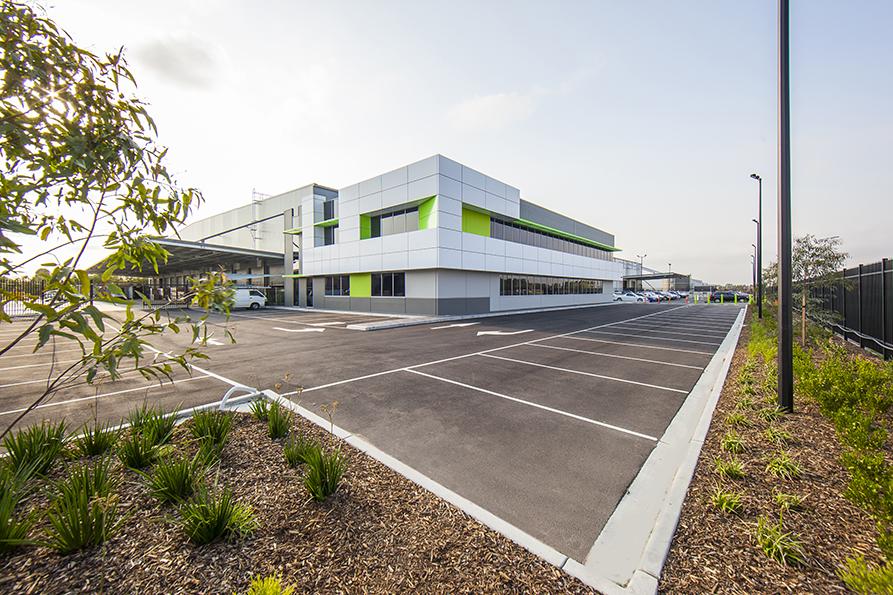 Temperature Controlled Robotic Distribution Centre  Victoria  14,000m2 Client: Australand