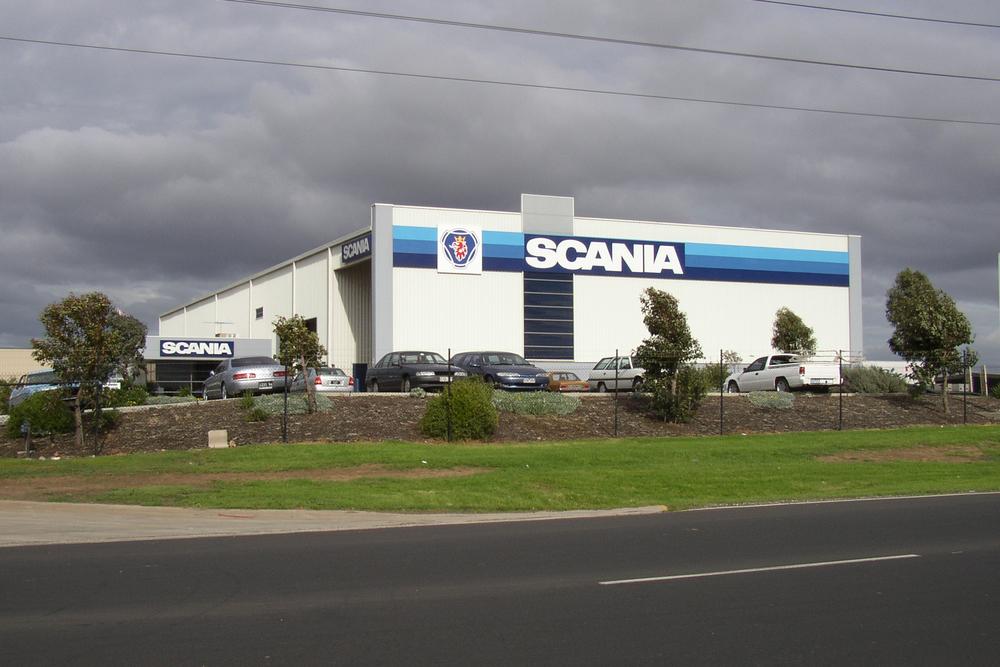 Scania  Dandenong, VIC  Client: Vaughan Constructions