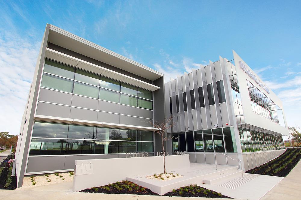 Porter Davis HQ  Bundoora, VIC  Client: Pellicano Builders