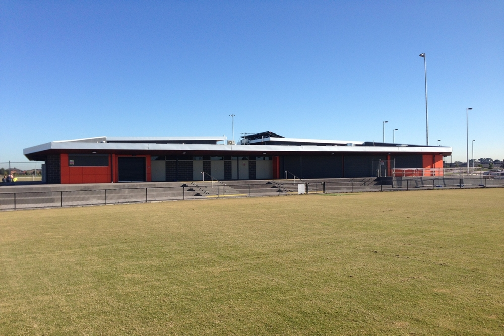 Marriot Waters Sports Complex  Lyndhurst, VIC  Client: City of Casey