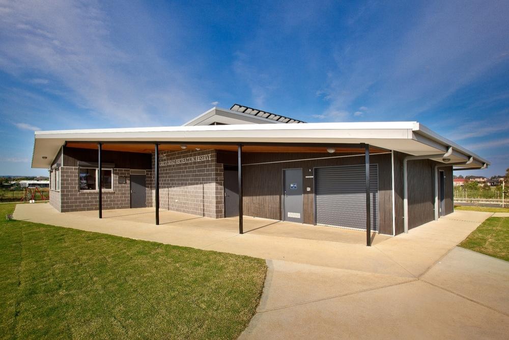 Grices Road Soccer Pavilion  Berwick, VIC  Client: City of Casey