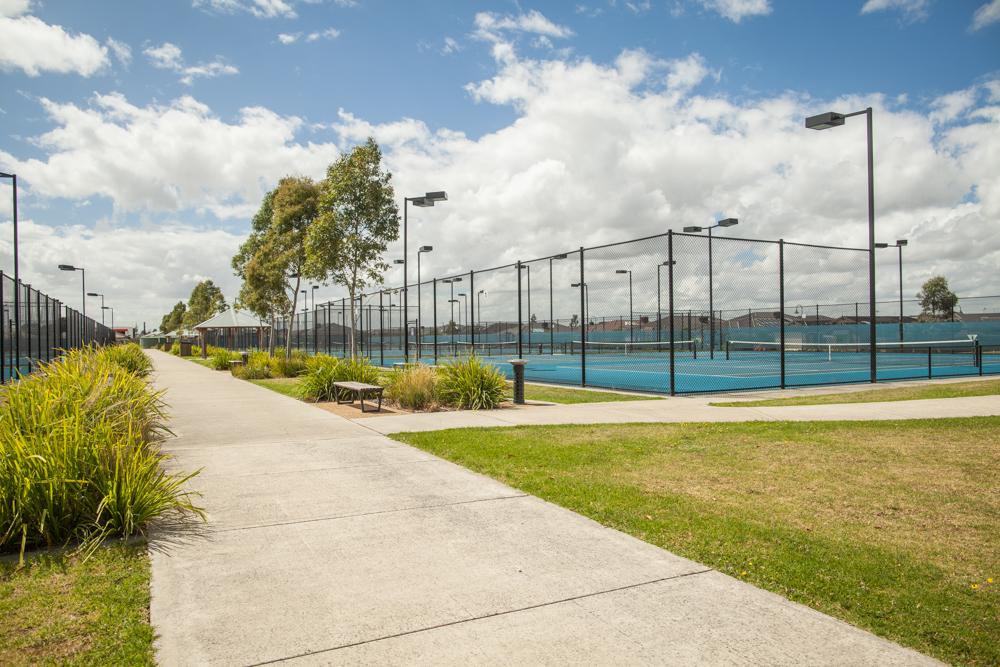 Pakenham Tennis Centre  Pakenham, VIC  Client: Cardinia Shire Council