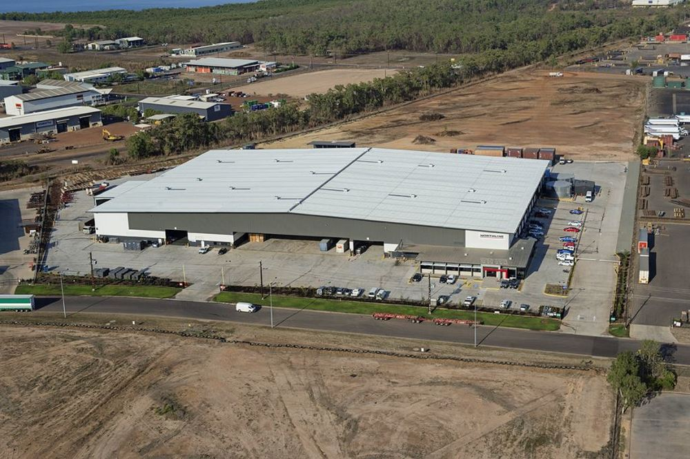 Northline  East Arm, NT  16,500m2   Client: Vaughan Constructions