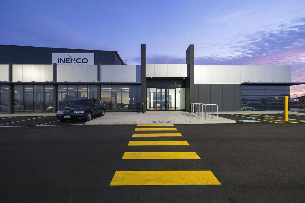 Inenco Warehouse  Truganina, VIC  12,000m2 Client: Vaughan Constructions