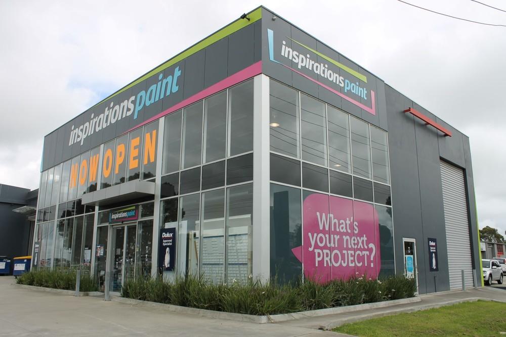 Inspirations Paint Centre   Pakenham, VIC   Architect: Studiothree Design
