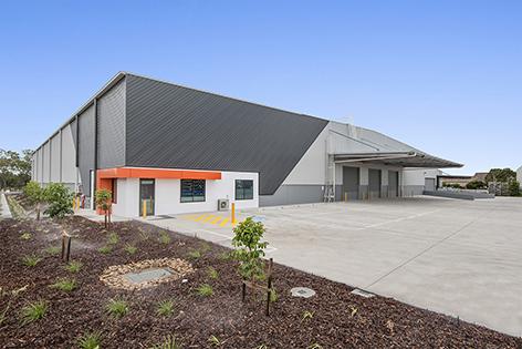 Agility QLD  Pinkenba, QLD 6,500m2  Client:  Texco