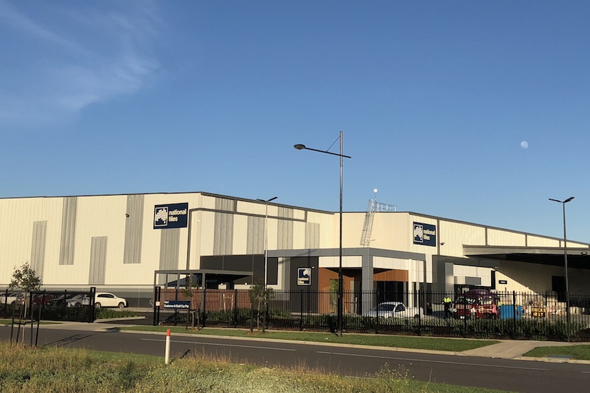 National Tiles  Truganina, VIC 35,000m2  Architect: Frasers Property