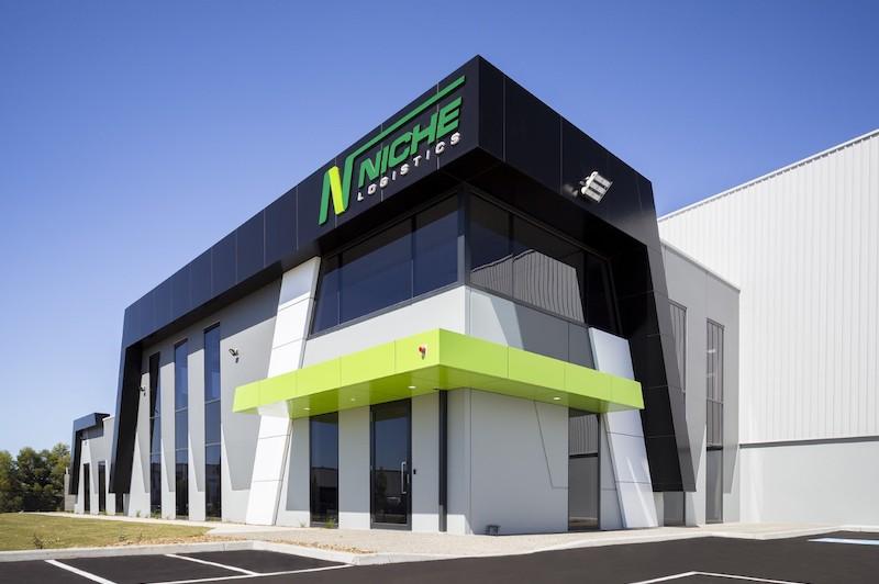 Niche Logistics  Altona, VIC 6,900m2  Client: Texco