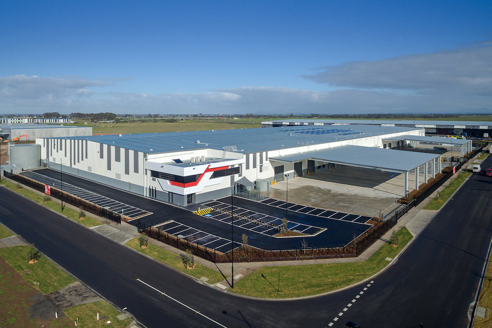 Spec 8 Warehouse  Truganina, VIC  25,000m2 Client: Frasers Property
