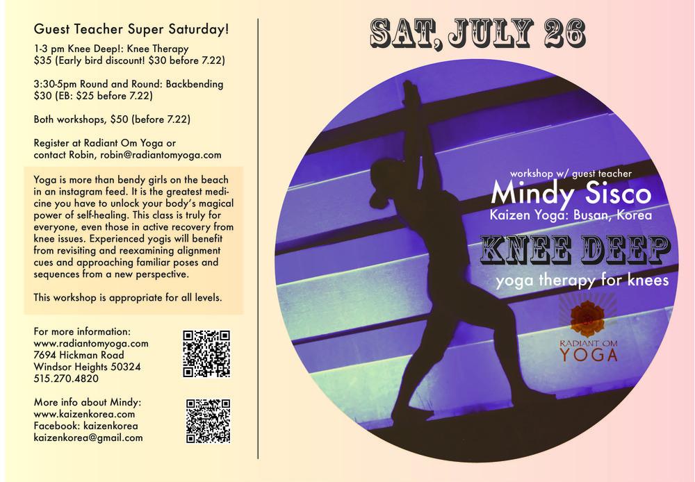 Knee Deep: Yoga Medicine for Knees