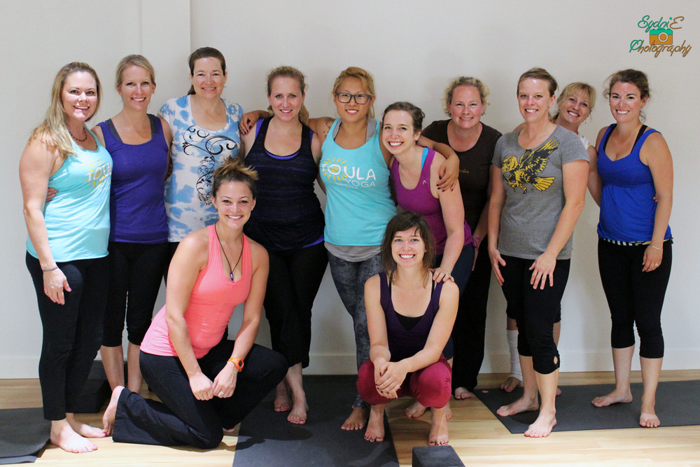 The amazing, inspired and inspiring yoginis of Toula Yoga and beyond!