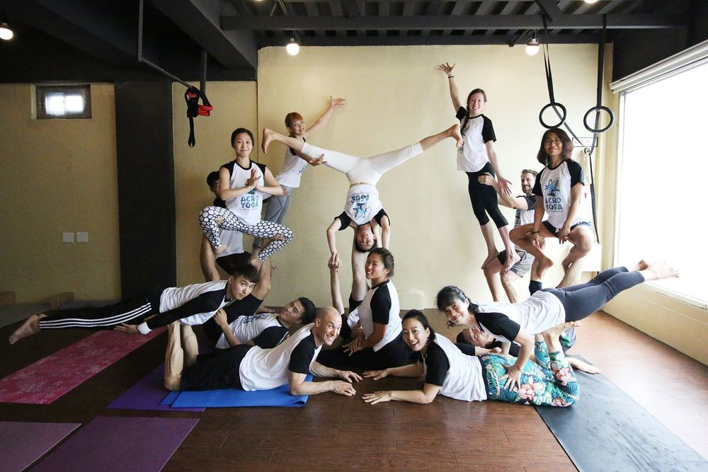 KAIZEN's Summer Acro Camp in July