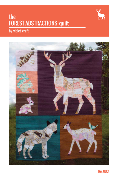 Forest Abstractions Quilt