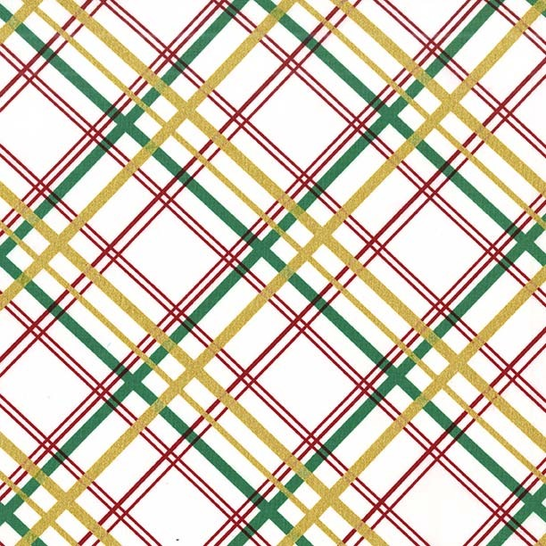 Bow Tie Plaid in Garland