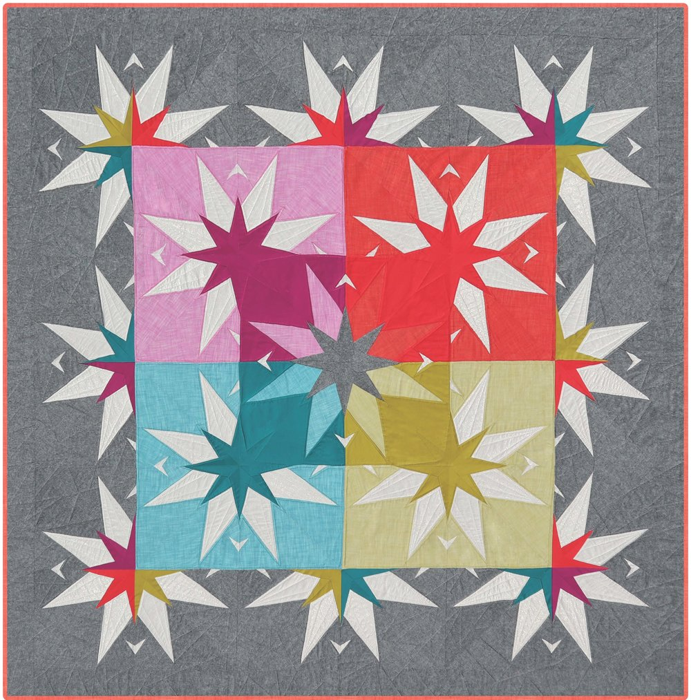County Star Barn Quilt Violet Craft