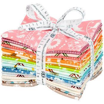 Robert Kaufman 20 Fabrics Fat Quarter Bundle Bandana Fabrics Violet Craft Buffalo Flats