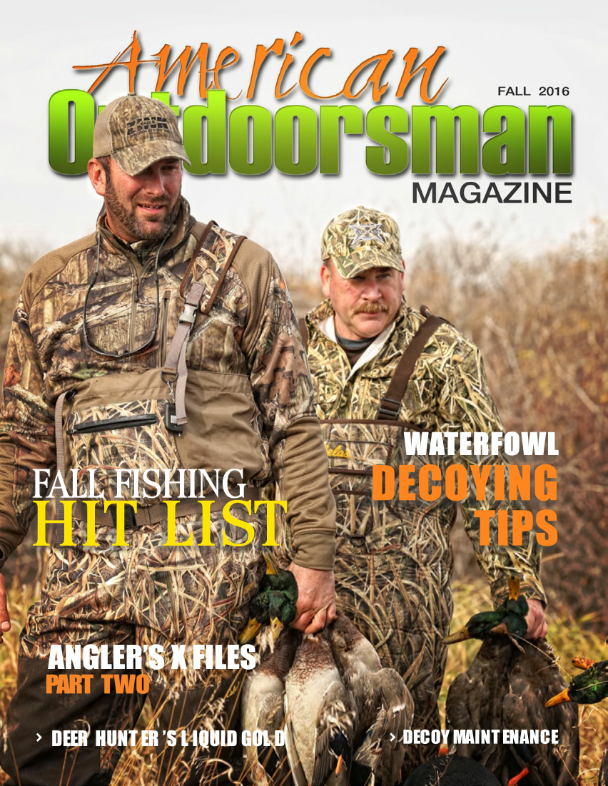 American Outdoorsman - Fall 2016 Angler's X Files with Rick Crozier Dare To Believe- Part 2 UNDERSTANDING THE 6th SENSE