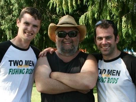 NATHAN THOMAS, RICK CROZIER and TYLER KYLE